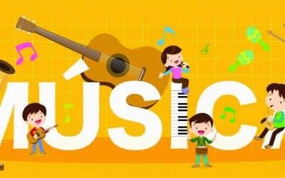 Música no desenvolvimento da Criança