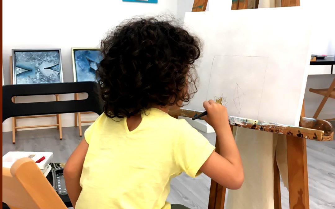 Atelier pintura Criamos emoções